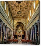 Basilica Di San Crisogono Canvas Print