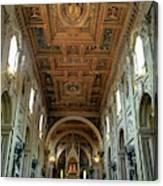 Basilica Di San Giovanni In Laterano Canvas Print