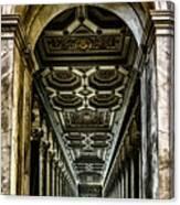 Basilica Papale Di San Paolo Fuori Le Mura Canvas Print