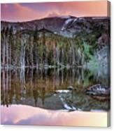 Basin Lake Sunset Canvas Print