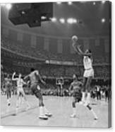 Basketball - Ncaa Tournament - North Canvas Print