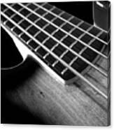 Bass Guitar Musician Player Metal Rock Body Canvas Print