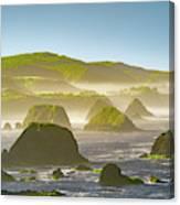 Bay In California Canvas Print