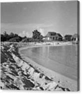 Beach Sand Cove Canvas Print