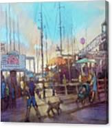 Beaufort Summer Color Canvas Print