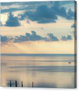 Beautiful Clouds Over Pamlico Sound Canvas Print