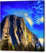 Beautiful El Capitan Canvas Print