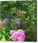 Beautiful Magnolia Garden Canvas Print