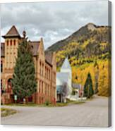 Beautiful Small Town Rico Colorado Canvas Print