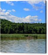 Beaver Lodge On Southern Lake Champlain New York Canvas Print