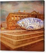 Belfast Big Fish Canvas Print