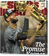 Believe The Promise Keeper Sports Illustrated Cover Canvas Print