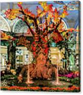 Bellagio Conservatory Enchanted Talking Tree Ultra Wide 2018 2.5 To 1 Aspect Ratio Canvas Print