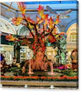 Bellagio Enchanted Talking Tree Ultra Wide 2018 2 To 1 Aspect Ratio Canvas Print