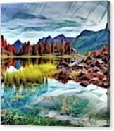 Belluno Mountains Canvas Print