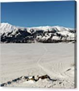 Bennett Lake At Carcross Yukon Canvas Print