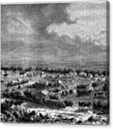Berkly Or Klipdrift, A Town Canvas Print