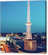 Berlin - Funkturm Canvas Print