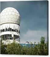 Berlin - Teufelsberg Listening Station Canvas Print