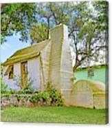 Bermuda Botanical Gardens Cottage Canvas Print