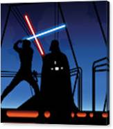Bespin Duel Canvas Print