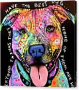 Best Dog Canvas Print