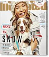 Best In Snow The Chloe Kim Era Is Here Sports Illustrated Cover Canvas Print