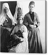 Bethlehem Women In 1886 Canvas Print