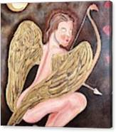 Beware Of The Cupid Canvas Print