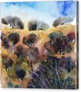 Beyond The Hills Canvas Print