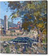 Bezistani Elbasan Canvas Print