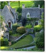 Bibury Cottages Canvas Print