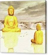 Big Buddha, Little Buddha Canvas Print