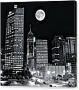 Big Moon Indianapolis 2019 Canvas Print