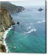 Big Sur Ocean Views Canvas Print