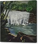 Big Waterfall Canvas Print