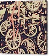 Bike Mountain Canvas Print