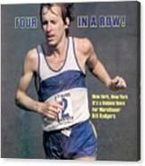 Bill Rogers, 1979 New York City Marathon Sports Illustrated Cover Canvas Print
