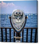 Binocular Viewer Canvas Print