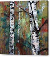Birch Portrait I Canvas Print