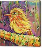 Bird In Nature Canvas Print