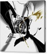 Black And White Abstract Canvas Print