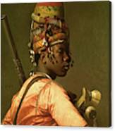 Black Bashi Bazouk 1868 69 Canvas Print