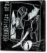 Black Ivory Issue 1b17a Canvas Print