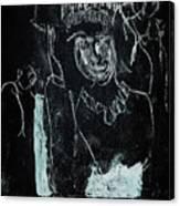 Black Ivory Issue 1b9a Canvas Print