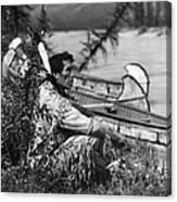 Blackfoot Indian Canvas Print