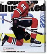 Blackhawks Patrick Kane The Nehls Best Player Has Arrived - Sports Illustrated Cover Canvas Print