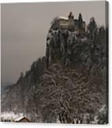 Bled Castle Canvas Print
