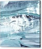 Blue #12 Canvas Print