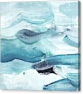 Blue #14 Canvas Print